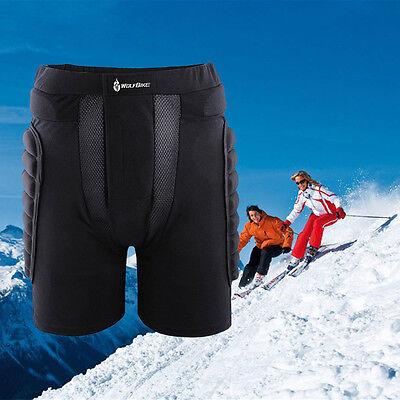 Pad Padded Protective Hip Shorts Skiing Snowboarding Impact Protection Black New