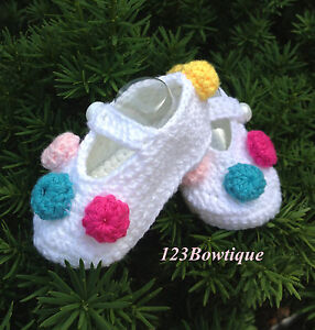 ecfe6c7f295e Image is loading Crochet-Baby-Booties-Crochet-Baby-Shoes-size-8cm-