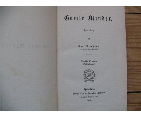 København: Gamle minder, Carl Bernhard, genre: anden