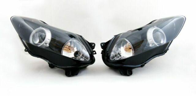 Phare Headlight pour Yamaha YZF 1000 R1 2007-2008 Clear A