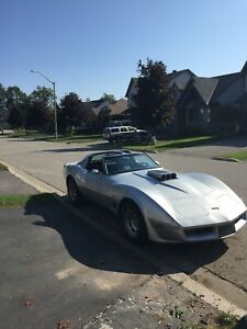 1980 Corvette L-82 350 small block matching numbers