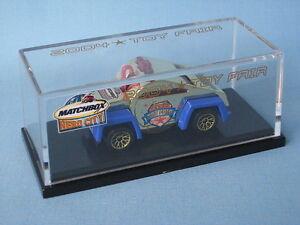 Matchbox Police Whistle Car 2004, modèle de foire aux jouets, édition USA rare