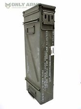 US Army Large Ammo / Tool Box Mortar Ammunition Storage Box With Removable Lid