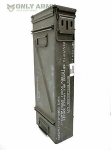 US-Army-Large-Ammo-Tool-Box-Mortar-Ammunition-Storage-Box-With-Removable-Lid