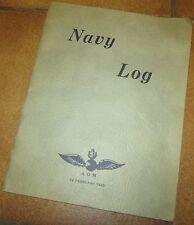 Brochure USN WW2