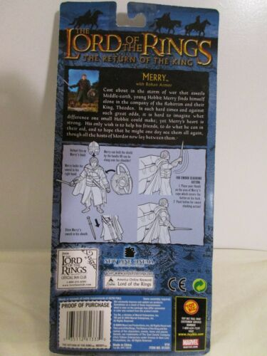 Lord of the Rings ~ Return of the King ~ Merry with Rohan Armor ~ MOC