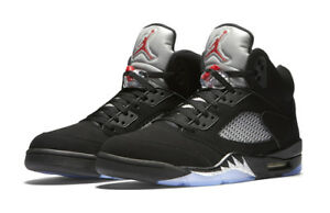 c985d21d14a Nike 845035-003 Men's Sz 13 Air Jordan 5 Retro - Black 883419244421 ...