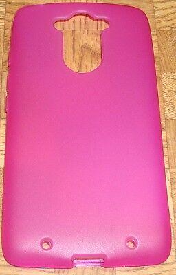 HOT PINK TPU Case Cover for Motorola Droid Turbo XT1254BN Ballistic Nylon Model