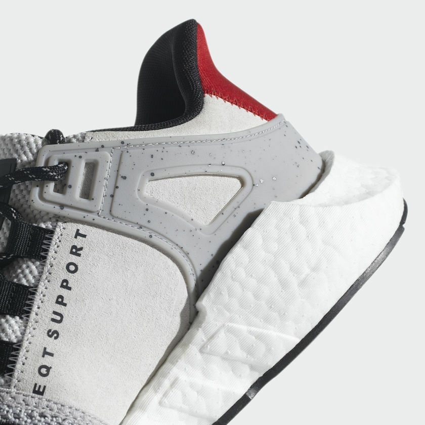 new concept 7e0eb 753cd 180 NEW Men s Adidas EQT Support 93 17 Sneakers Sneakers Sneakers Grey  Black Scarlet Size 7