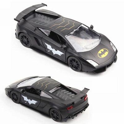 1//36 Batman Thema Lamborghini Gallardo Metall Die Cast Modellauto Spielzeug