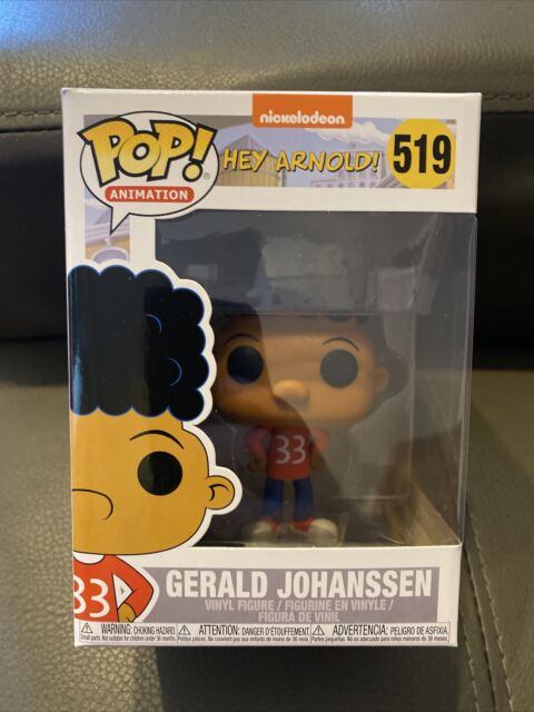 Hey Arnold! Gerald Johanssen #519 - New Funko POP! vinyl Figure