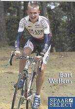 CYCLISME carte cycliste BART WELLENS  équipe SPAAR SELECT cyclo cross