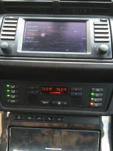 BMW X5 E53 AC AIR CONDITIONING HEATER CLIMATE CONTROL UNIT MODULE 18 A//C 6972165