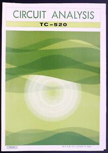 Yamaha-TC-520-Original-Cassette-Deck-Manuel-de-Service-Circuit-Analysis