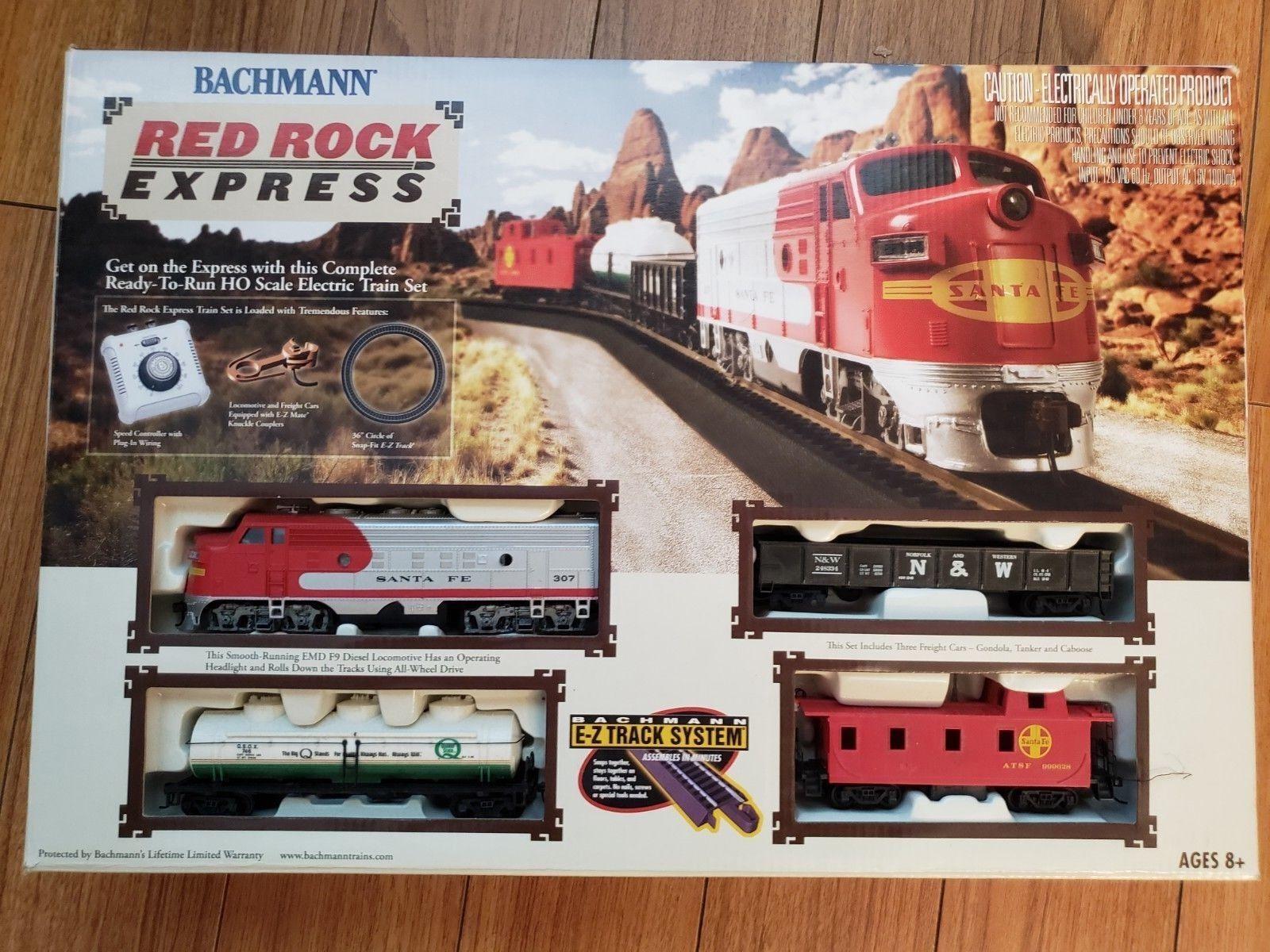 Bachmann HO Scale Red Rock Express Train Set BAC