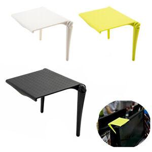 Adjustable Screen Top Shelf Office Computer Table Desk Folding Storage Rack Clip