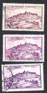 VARIETE-N-759-Vezelay-LES-TROIS-NUANCES-DE-LILAS-obliteres