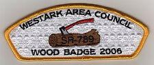 Westark Council CSP, SA-37, Woodbadge 2006, Mint!
