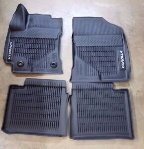 2014 2019 Toyota Corolla Floor Mats Rubber All Weather