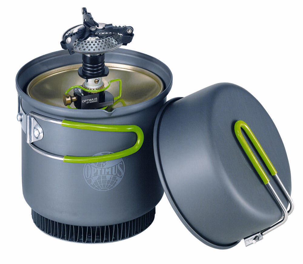 Optimus Crux Weekend Weekend Crux HE Outdoor Cooking Stove System - For Camping & Hiking ced379