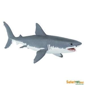 Safari Ltd 200729 Weißer Hai 16 cm Serie Wassertiere