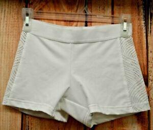 posición Permiso consultor  Adidas Womens Running Tight Mesh White Shorts Gym Crossfit Powerlifting S |  eBay