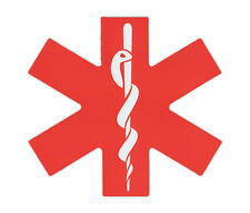 Magnetic Bumper Sticker - EMS Star of Life (Emergency Medical Services)