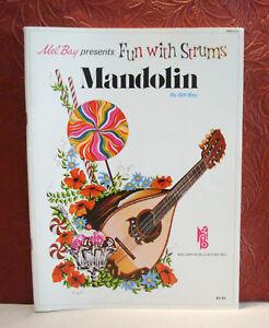 Mel Bay Presents Fun With Strums Mandoline Niveau 2 Par Bill Bay 1975 Broché-afficher Le Titre D'origine
