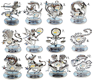 Crystocraft-Zodiac-Sign-Crystal-Ornament-Star-Sign-Swarovski-Elements-Boxed