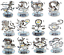 Crystocraft-Zodiac-Sign-Crystal-Ornament-Star-Sign-Swarovski-Elements-Boxed thumbnail 1