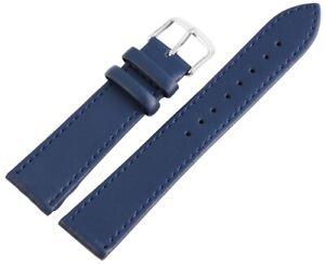 Echt-Leder-Ersatzarmband-Uhrenarmband-14-16-18-20-22-24-26-mm-Blau-X-8000053