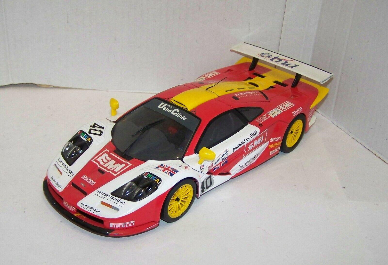 UT Models 1 18, McLaren F1 GTR No. 40, lesen, XR8900X