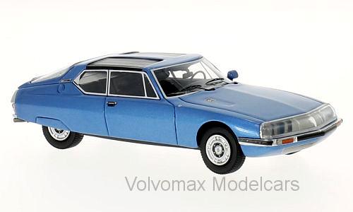 Wonderful modelcar CITROEN SM Espace by Heuliez 1971 - blumetallic - 1/43 - lim