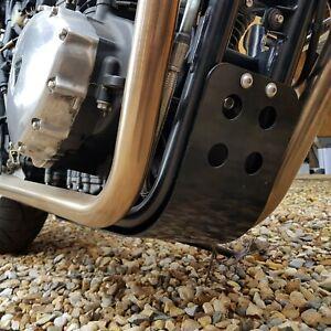 TEC-Black-Alloy-Engine-Guard-Sump-Cover-Triumph-Bonneville-2001-2016