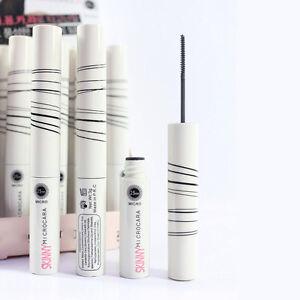 Black-Skinny-Mascara-Long-Curling-Extension-Length-Eyelashes-Cosmetic-Waterproof