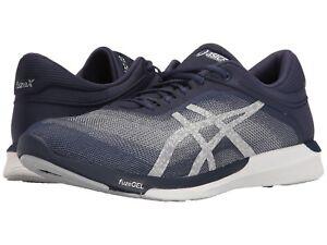 NIB Men's Asics FuzeX Rush Running Shoes  Downshifter Experience Indigo