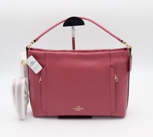 NWT-Coach-Scout-Pink-Leather-Hobo-Shoulder-Crossbody-Bag-Purse-24770-New-295