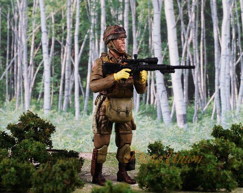 GI Joe 1:18 Action Figur 3.75 Sniper RIFLE Remington MK-11 SR-25 AR-15 G19/_C