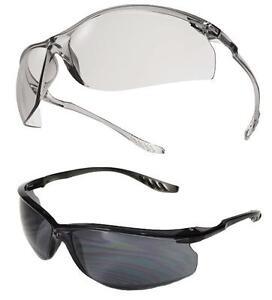 UCI-MARMARA-Safety-Occhiali-Occhiali-Eye-protezione-trasparente-amp-Fume-LENTI