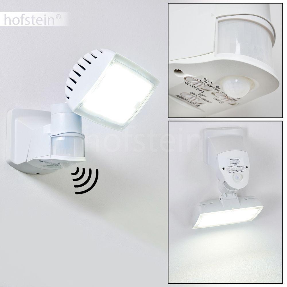 LED Einfahrt Hof Terrassen Haus Tür Lampen Außen Wand Leuchten Bewegungsmelder