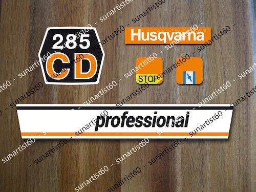 HUSQVARNA Aufkleber Set Sticker Chainsaw Decals Typenschild Oldtimer Motorsägen