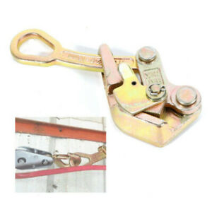Cable Pullers 1 Ton Cable Wire Rope Haven Grip Jaw Puller Pulling 2204 Lbs