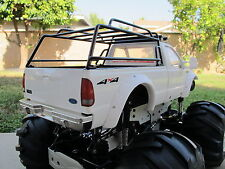Metal Contractor Cargo Roof Bed Rack Tamiya RC 1/10 Ford F350 Juggernaut Truck