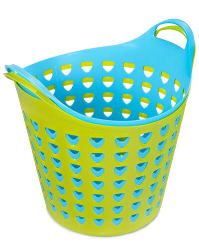 Ondis24 Flexi Open Wäschekorb Wäschesammler Haushaltskorb Mehrzweckkorb 26 Liter
