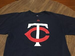 Minnesota-Twins-Large-T-Shirt-Target-Field-Built-2010-MLB-Majestic