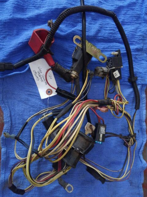 JOHN DEERE L130 Main Wiring Harness Assembly GY20551