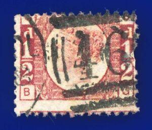 1878-SG49-d-Rose-Plate-19-MISPERF-BG-Rich-Shade-Liverpool-466-G-U-CV-60-awaa
