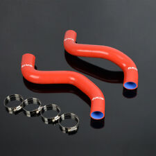 Red Silicone Hose Fit For Toyota 16572 62090 4runner Upper 16571 62070 Amp Lower