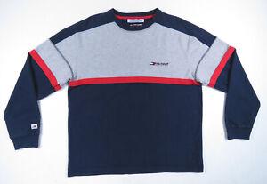 Vintage-90s-Tommy-Hilfiger-Athletics-Spell-Out-Crewneck-Sweatshirt-Jumper-Mens-M