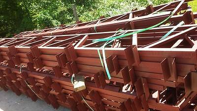 40 foot steel truss for pole barns, agricultural buildings, arenas, carports